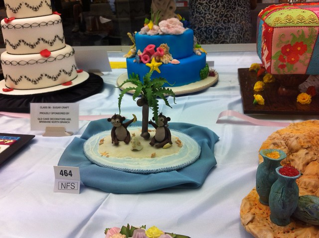 Cake Decorating Competition Show : Queensland Cake Decorating competition display at Brisbane ...