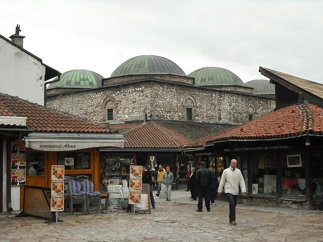 Brusa Bezistan, Sarajevo