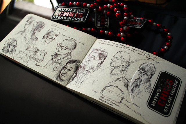Ruth's Chris Steakhouse Sketchbook