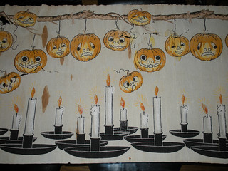 Candles and A Garland of Jacks