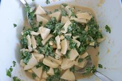 Petersilien-Eier-Salat