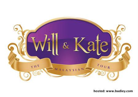 Will &Amp; Kate - The Malaysian Tour (Logo)