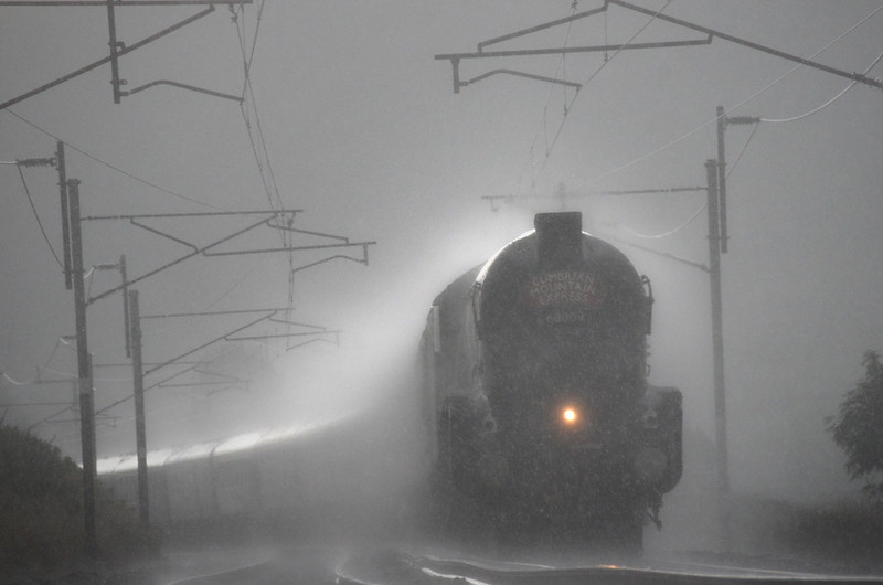 LNER Class A4 in the Rain