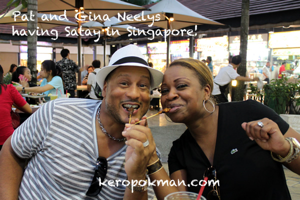 The Neelys in Singapore