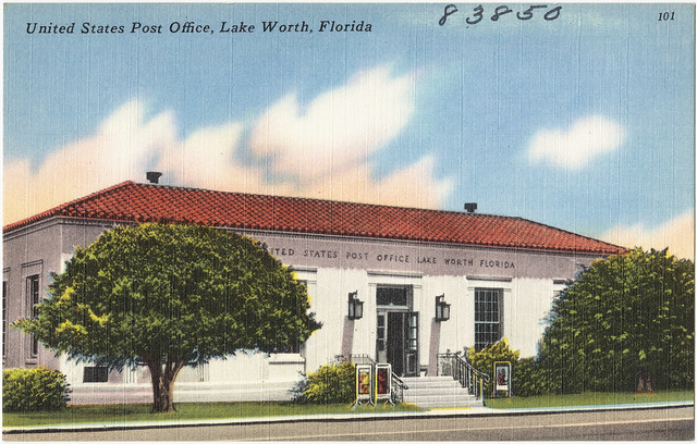 Lake Worth (FL) United States  city photos : United States Post Office, Lake Worth, Florida | Flickr Photo ...