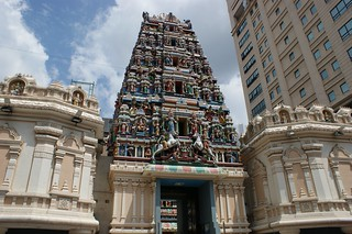 Sri Mahamariamman Temple Main Door