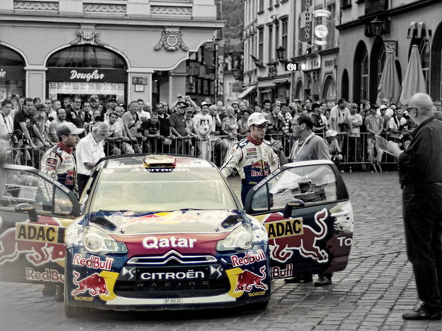 ADAC Rally Trier Germany 2012 showstart
