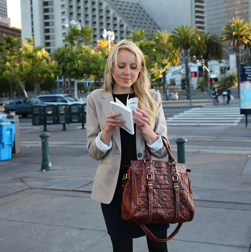 business attire, office wear, professional outfit, sfs, thesfstyle, street fashion style, san francisco fashion blog, embarcadero, ferry building, boxy blazer, equestrian boots, chloe,