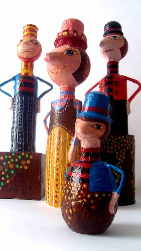 """Arte y Reciclaje by PalomaCancino """"Urpi"""""""