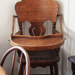 Nixon baby highchair - Nixon birthplace - Richard Nixon Presidential Library and Museum