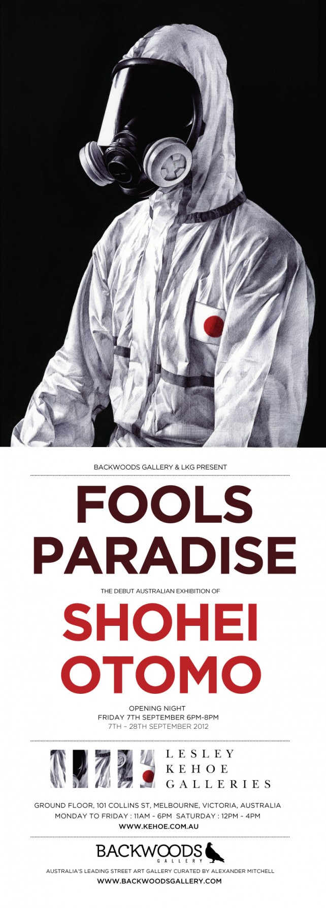 Shohei Otomo: Fools Paradise at Backwoods Gallery