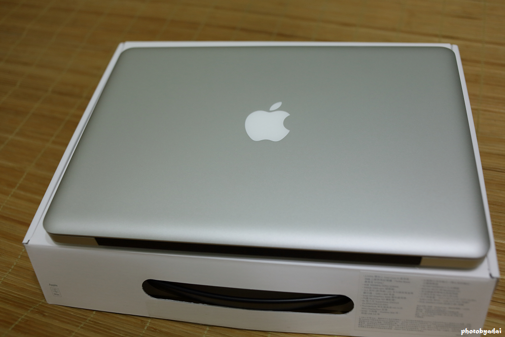 2012.8.25 Macbook Pro Unboxing