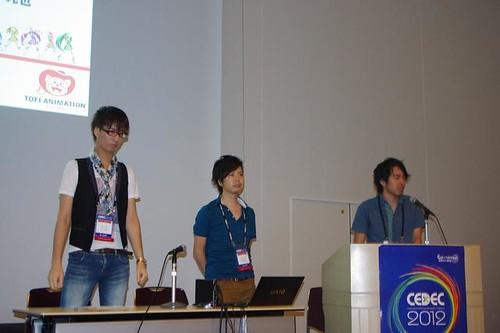 120825 – 東映動畫公司三位CG職人在『CEDEC 2012』分享動畫《光之美少女》四大世代『プリキュアダンス』的演化變遷!