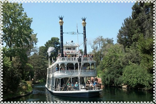 Disneyland's Mark Twain Riverboat