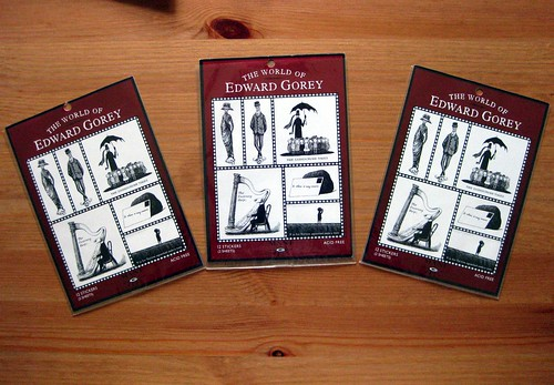 The World of Edward Gorey stickers