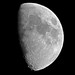 Waxing Gibbous Moon - August 25, 2012
