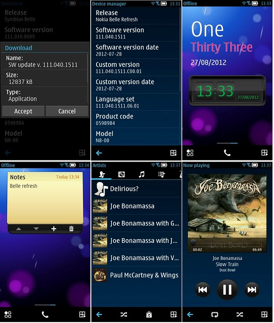 Symbian Belle Refresh for Nokia N8/E7/C6-01/X7 – Full Official Changelog