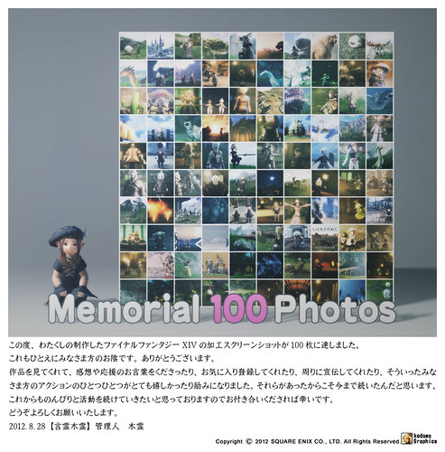 FINAL FANTASY XIV Memorial 100 Photos