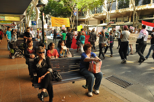"""Not Malaysia, Not Nauru"": Refugee Rights Rally, Brisbane"