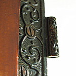 Cast Iron Door Butt Hinge from Our 1900 Rowhouse