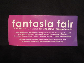 Fantasia Fair, Provincetown, Massachusetts brochure