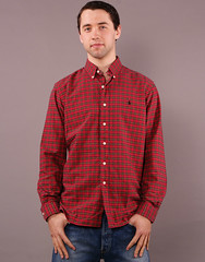 pattern, textile, clothing, collar, dress shirt, red, sleeve, maroon, outerwear, design, pocket, tartan, button, shirt, plaid,