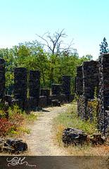 More Liberty Park Ruins....