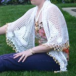 Nanette Lepore butterfly shawl from tag sale in Woodbury
