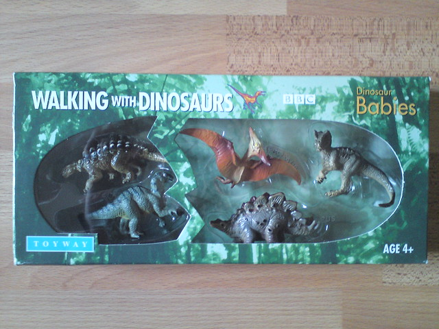 BBC Walking with Dinosaurs Toys