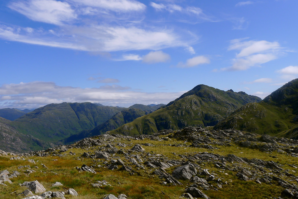 The hills above Glen Barrisdale