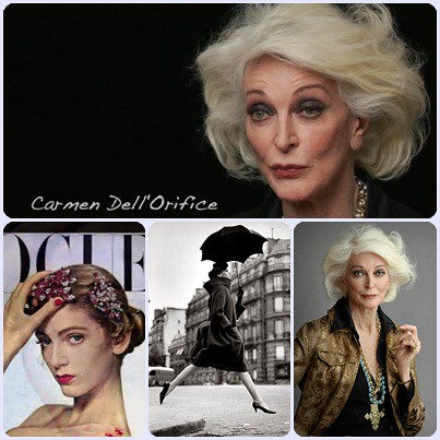 Documental About face (supermodelos entonces y ahora) Carmen Dell'Orifice