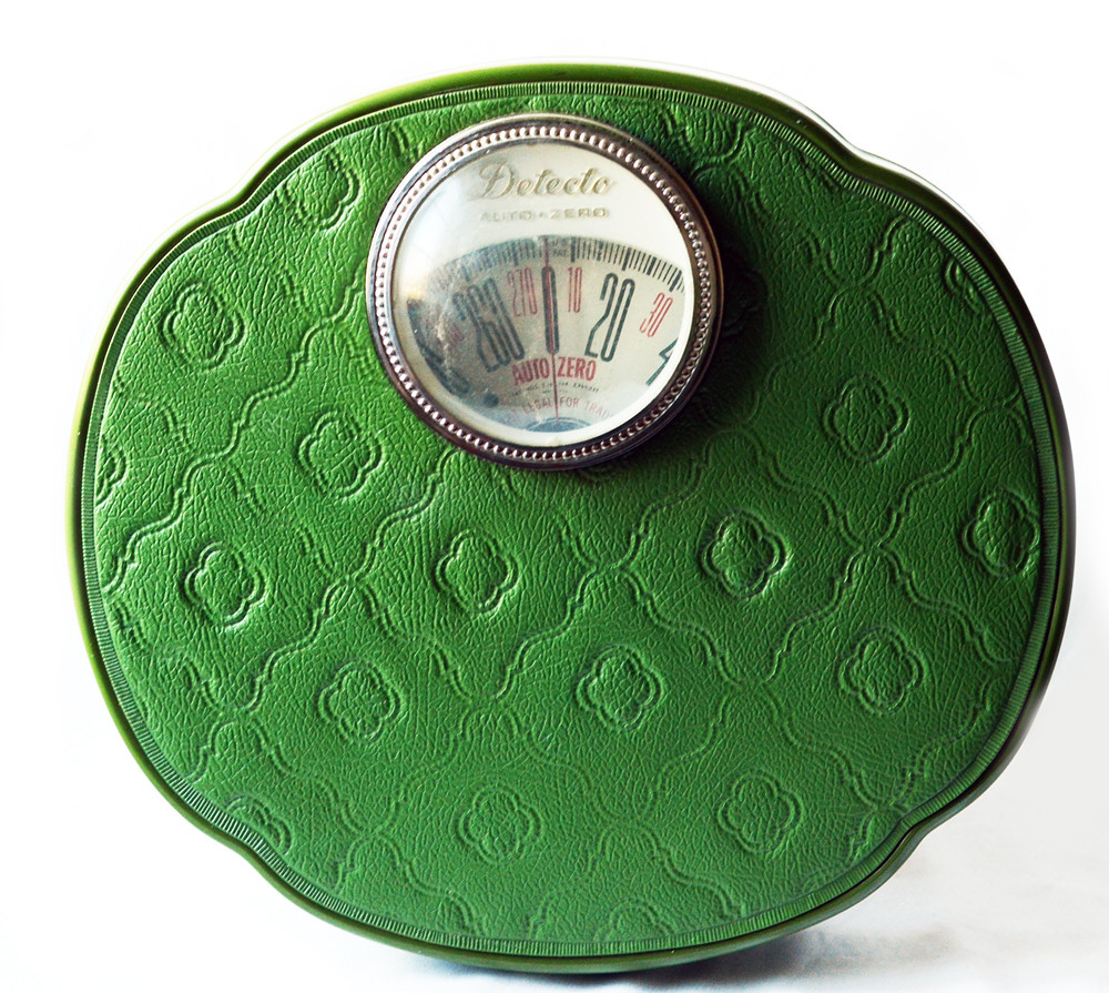 Vintage Retro Green Scale