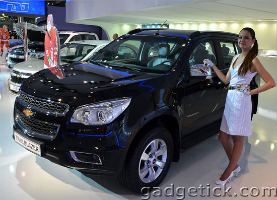 ММАС 2012 Chevrolet TrailBlazer