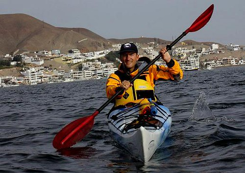 Sea kayaking in Peru with Nature Expeditions 04