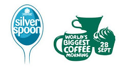 silver spoon & coffee logo