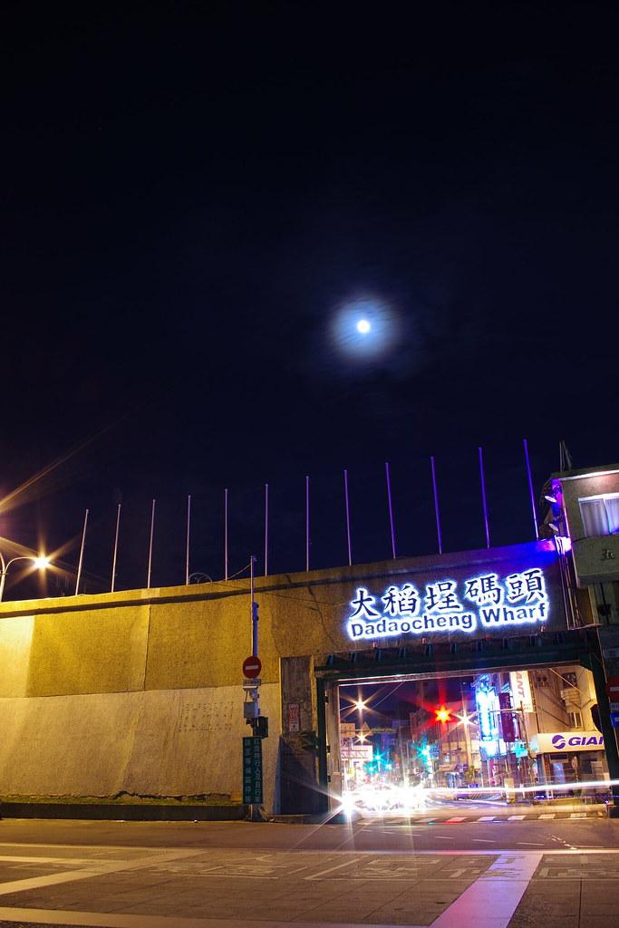 K-5初體驗:大稻埕夜晚