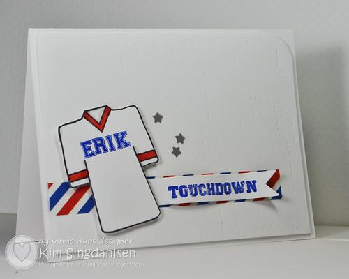 Touchdown for Erik