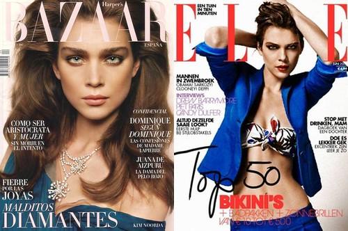 Kim-Noorda-portada-ELLE-Harper's-Bazaar