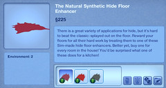 The Natural Synthetic Hide Floor Enhancer