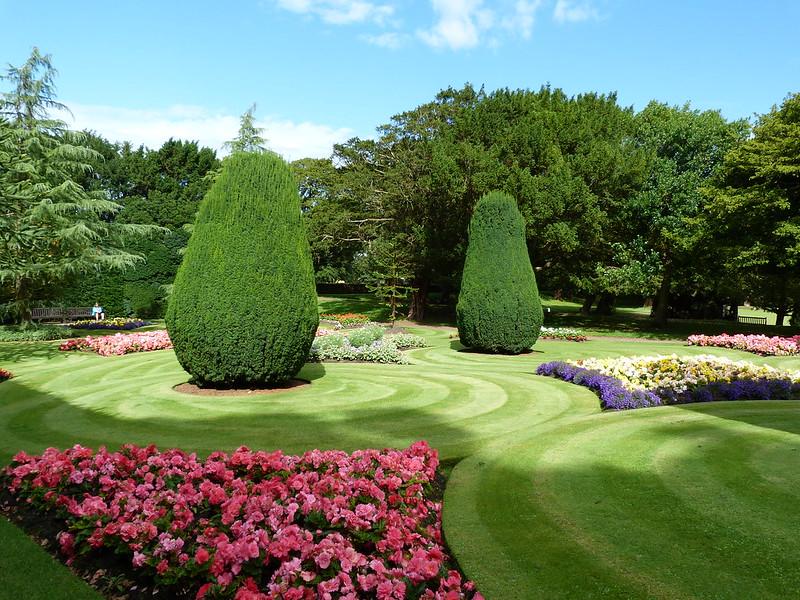 Dirleton Castle Garden