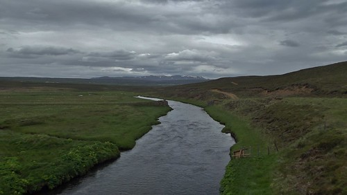 River Myrarkvisl, Iceland - July 2012