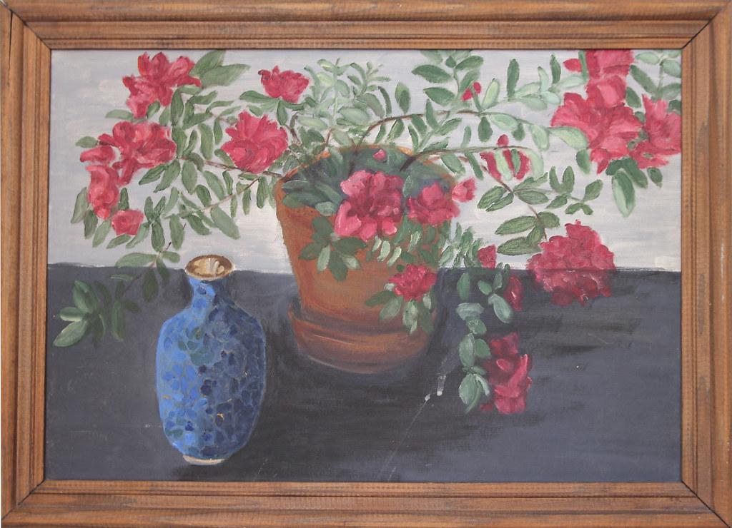 Hibiscus & Vase