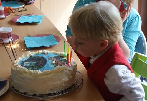 Taart Jens 4 jaar