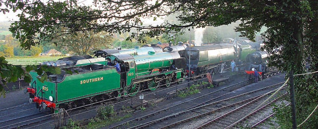 RD7403.  Ropley Shed.