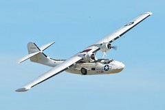 aviation, military aircraft, airplane, propeller driven aircraft, wing, vehicle, propeller, consolidated pby catalina, flight,