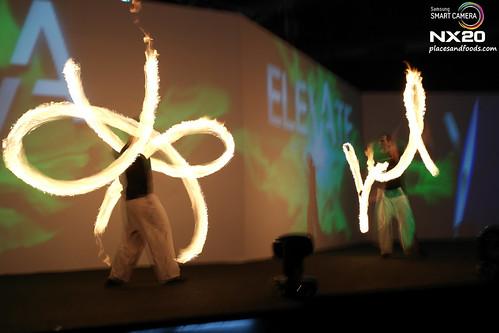 elevate fire dancer