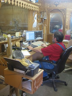 Ron Hard at Work