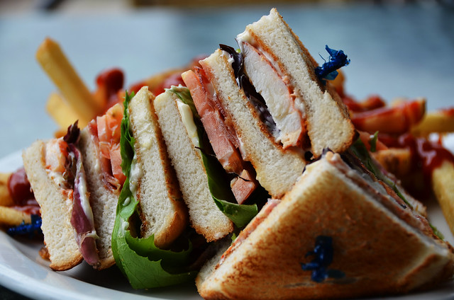 Lobster Club Sandwich | It WAS very good. | By: pokoroto | Flickr ...