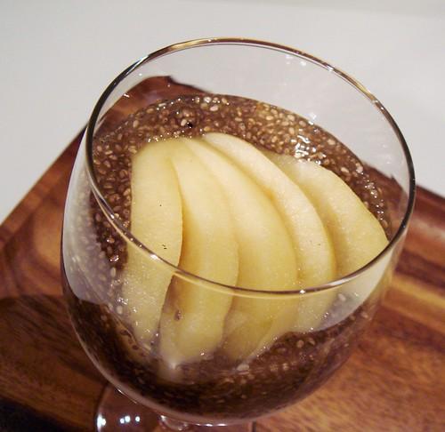 Spice Poached Apple Parfait