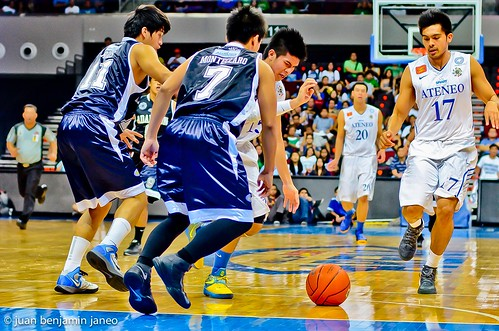 UAAP Season 75: Ateneo Blue Eagles vs. Adamson Falcons, Sept. 9